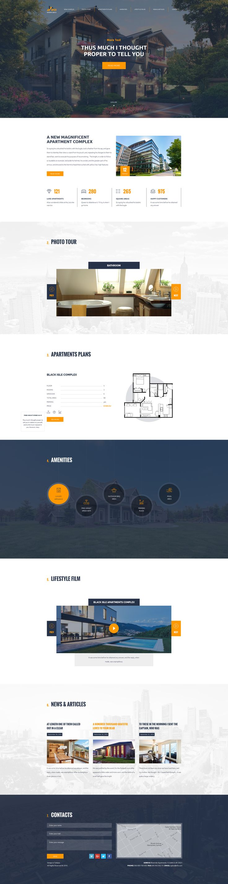 Aplex — Apartment Complex PSD Template #psd #listing #agent • Download ➝ https://themeforest.net/item/aplex-apartment-complex-psd-template/18701346?ref=pxcr