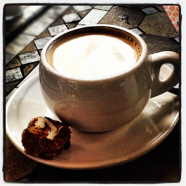 Coffee anyone? .. yummy biscuit not optional!
