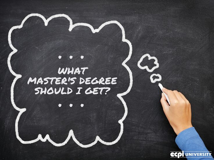 What Masteru0027s Degree Should I Get? #Masters #MastersDegree #Degree - master or masters degree on resume