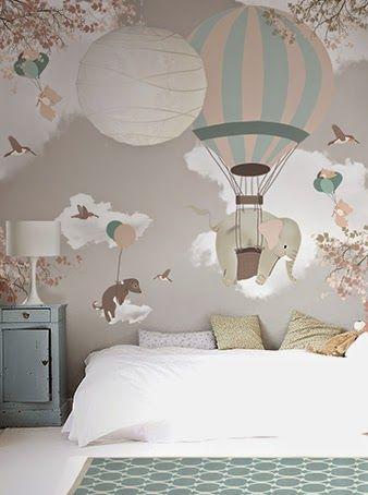 little hands: Little Hands Wallpaper Mural - Falling