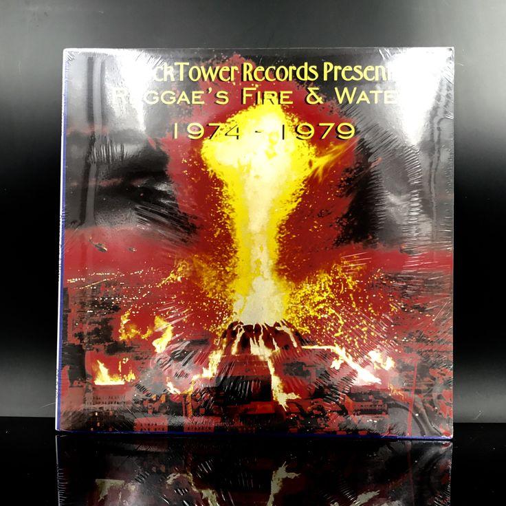 RARE: Reggae's Fire & Water 1974-1979 - Roots Reggae Vinyl Record - Dub Reggae Music LP by VinylLoversUnite on Etsy