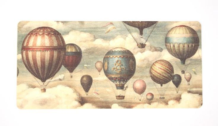 Panoramic Balloons | Babyland: Vintage Travel Nursery ...