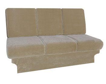 The #Duchess RV Conversion Van Sofa Bed Is The Top Of The Line In Van
