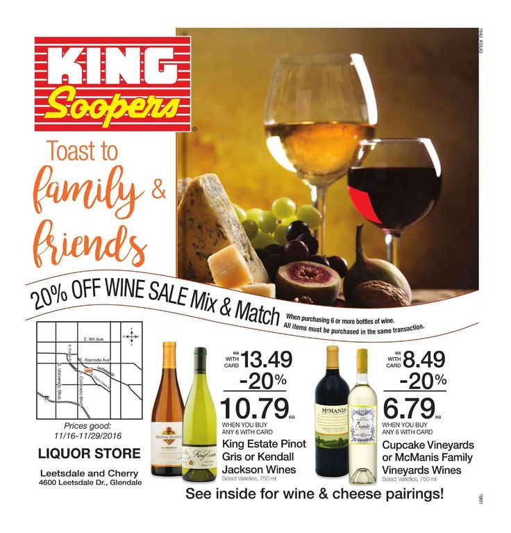 King Soopers Ad November 16 - 24, 2016 - http://www.olcatalog.com/grocery/king-soopers-ad.html