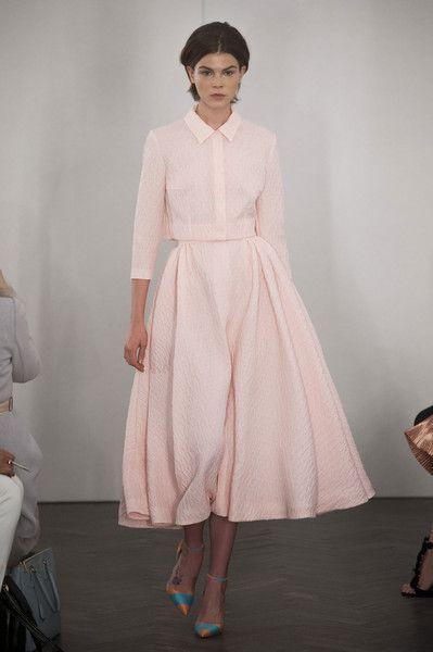 London Fashion Week's Best Looks - Best Runway Looks at London Fashion Week Spring 2014 - StyleBistro