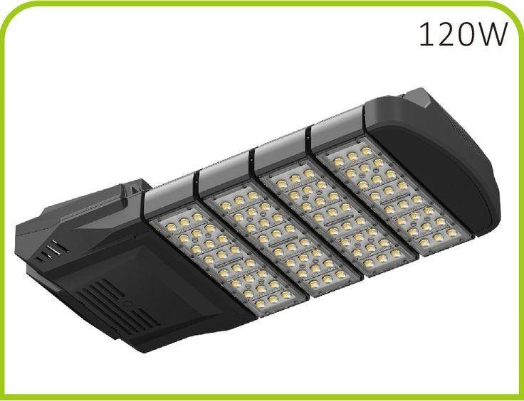 120 Watt High lumen retrofit LED Street light fixture - bridgelux 45mil - 12000Lm
