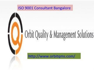 iso-9001-consultant-bangalore by Hirsita Dixit via Slideshare