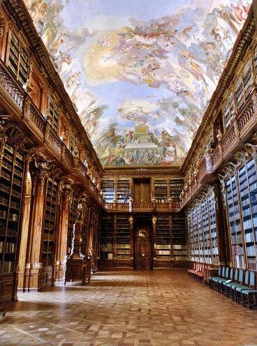 Strahovský klášter #library #prague #praha