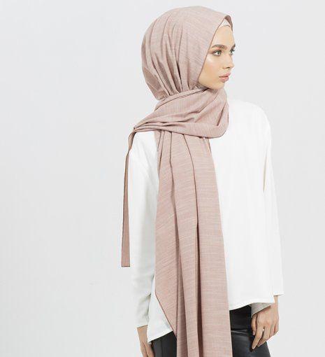Pink Rayon Blend Hijab