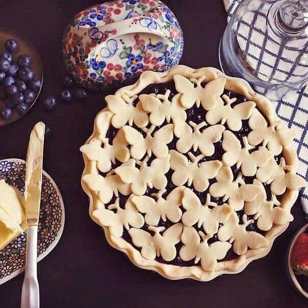 Amazing pie crust creation