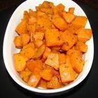 Gebakken zoete aardappel