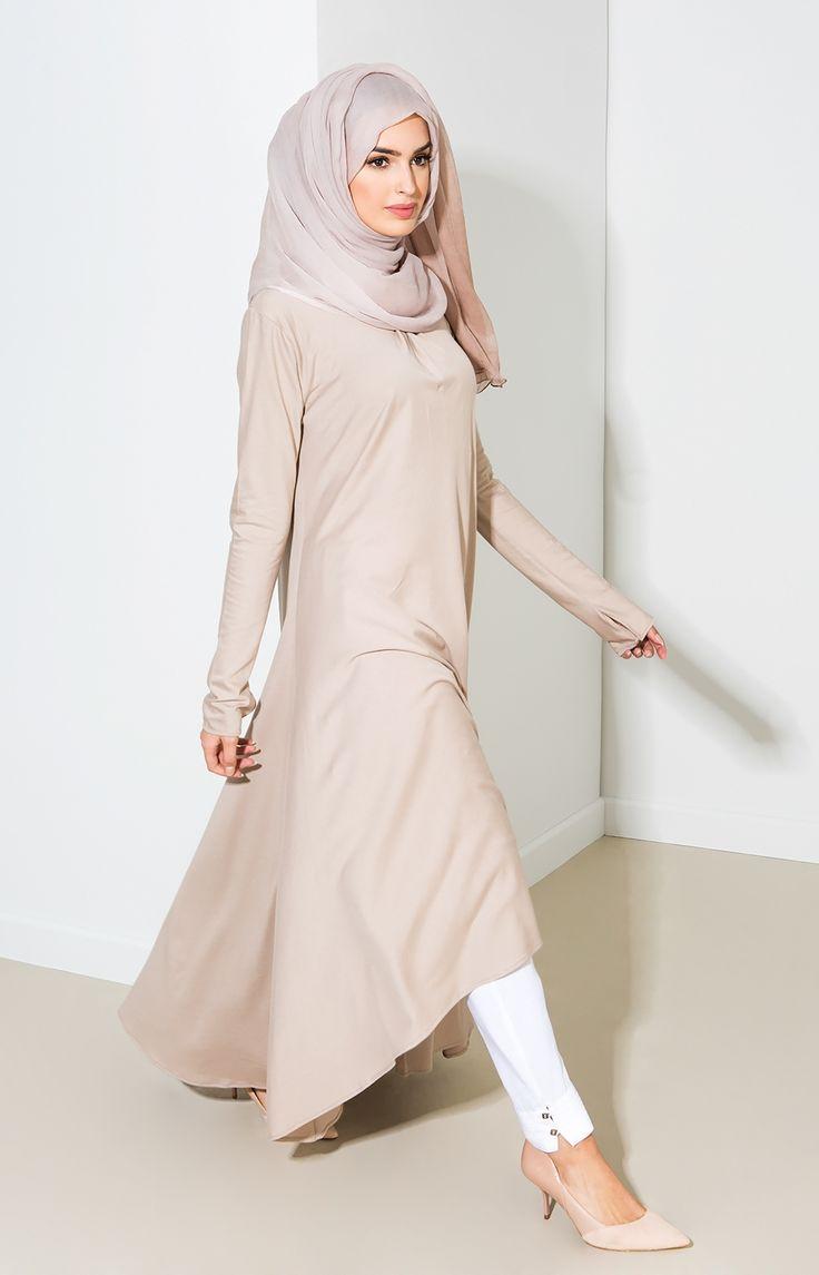 Mulberry Midi - Ice Coffee | Islamic fashion