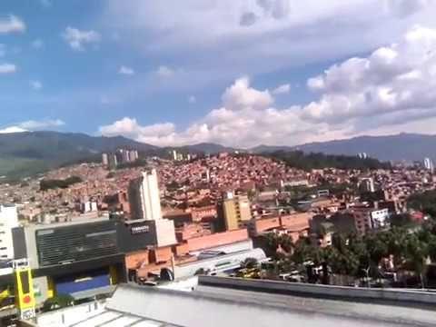 Un día cotidiano en Medellín.