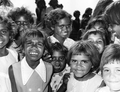 Beginning in 1910, non-Indigenous Australians began to take Aboriginal children from their homes and families. These children, known as the Stolen Generation, were either given to white families -- to be raised as white children -- or to institutions and orphanages where they were forced to assimilate to white society. Between 1910 and 1970, when the practice stopped, over 100,000 children had been separated from their families and culture.