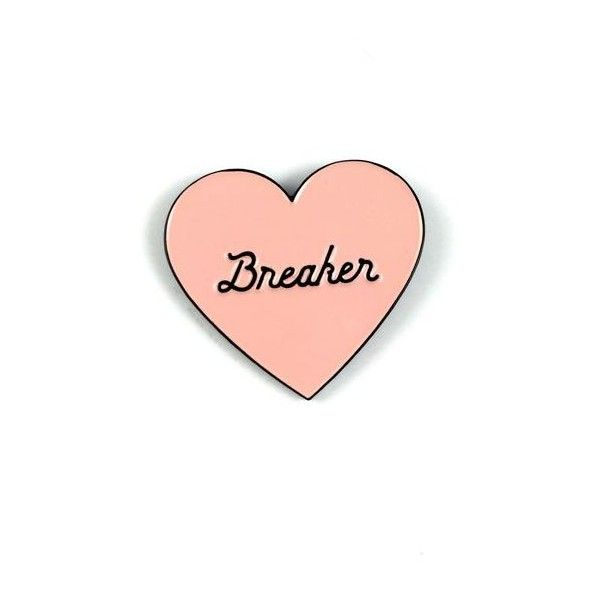 Heartbreaker enamel pin SECONDS SALE READ! ❤ liked on Polyvore featuring jewelry, brooches, pin brooch, military jewelry, heart-shaped jewelry, heart jewelry and heart jewellery