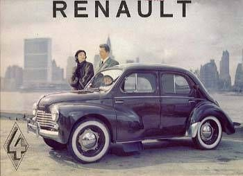 renault-4cv - our vehicle 50 century