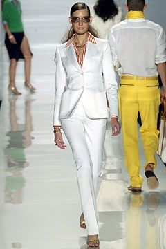 Michael Kors Collection Spring 2004 Ready-to-Wear Fashion Show - Michael Kors, Eugenia Volodina