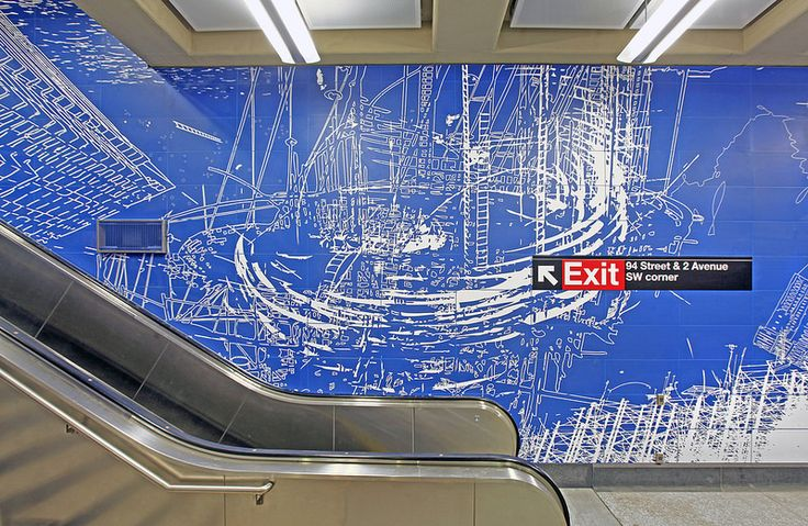 96thStreet: Sarah Sze, Blueprint for a Landscape - Metropolitan Transportation Authority of the State of New York