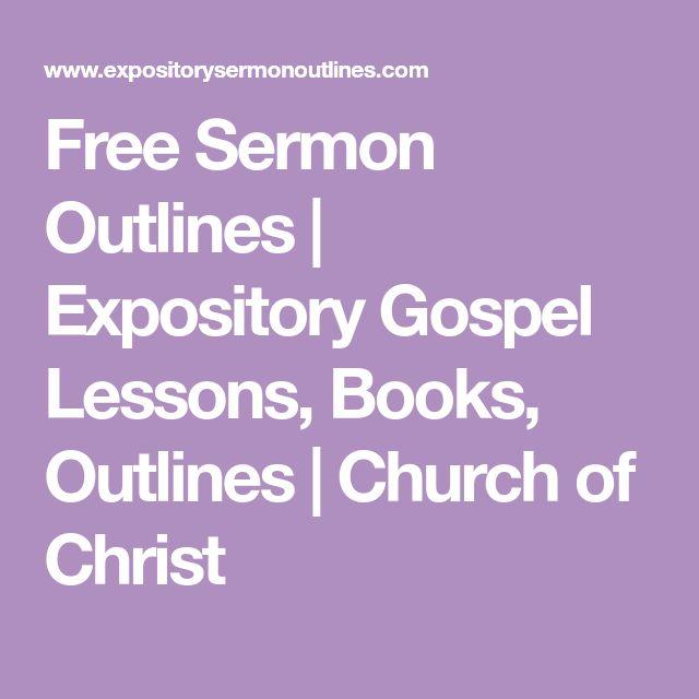 Christian Wedding Sermon Outlines
