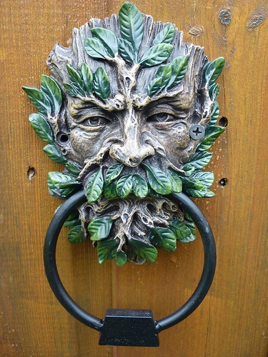 32 best images about green men and foliate folk on pinterest sketchbooks beltane and garden art - Greenman door knocker ...