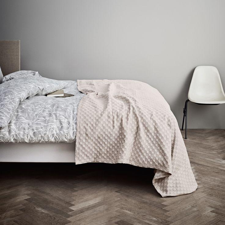 Juna   Caro Tagesdecke 190 X 260 Cm, Grey Morn