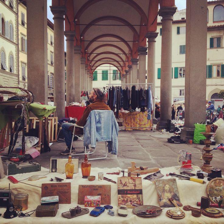 Piazza dei ciompi antique market via for Piazza dei ciompi