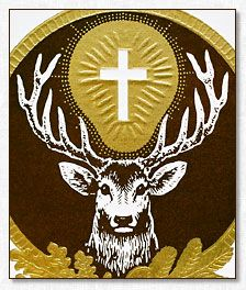St. Hubert, Patron Saint of Hunters..(for the Hunters that I love during this Hunting season) ~~Hunt Hard, Hunt Fair, Hunt Safe~~  Protection to all skilled and ethical hunters. Grant them confidence, perseverance, patience and accuracy. Implant in the hunter's heart a love for natures bounty and honoring the death of the wild animal that died.  Above all, St. Hubert shall help guide these hunters to always holding a deep sense of respect, reverence & Humility for the game they persue.