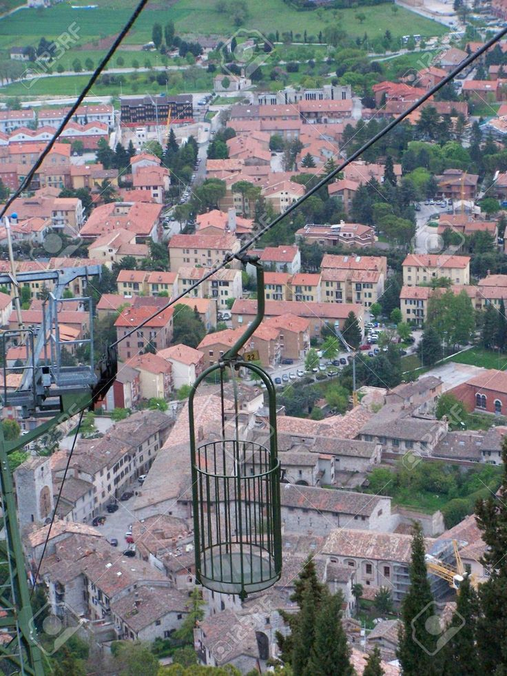 Aerial-view-of-Gubbio-Umbria-Italy-seen-from-the-cableway-that-goes-to-the-church-of-Sant-Ubaldo-