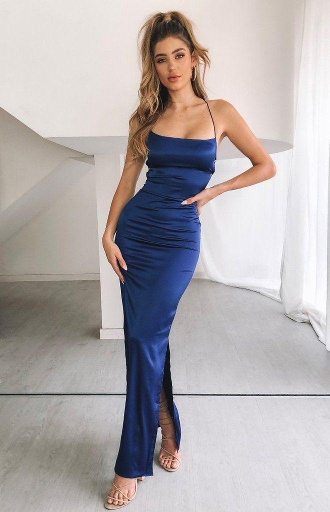 Manhattan Slip Formal Dress Midnight – XS