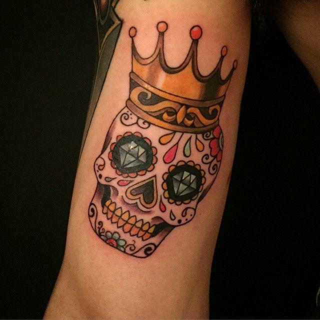 60 Best Sugar Skull Tattoos