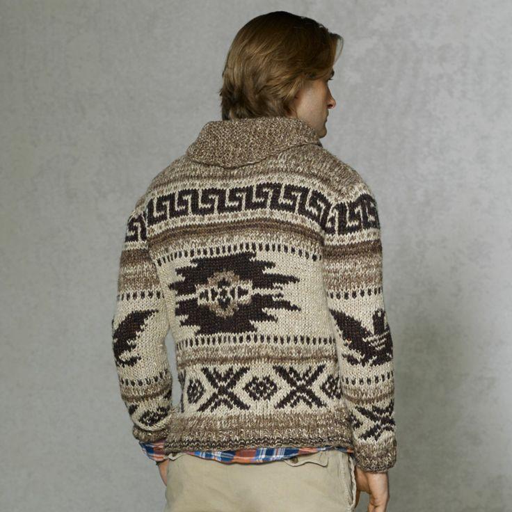 Polo Ralph Lauren Intarsia Cowichan Sweater