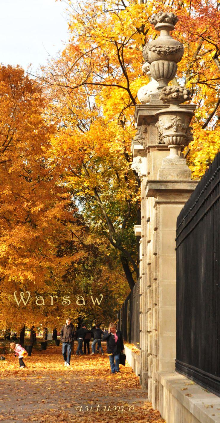 Warsaw autumn