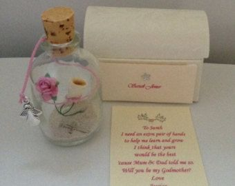 Personalised asking someone will you be my by bottled4u on Etsy