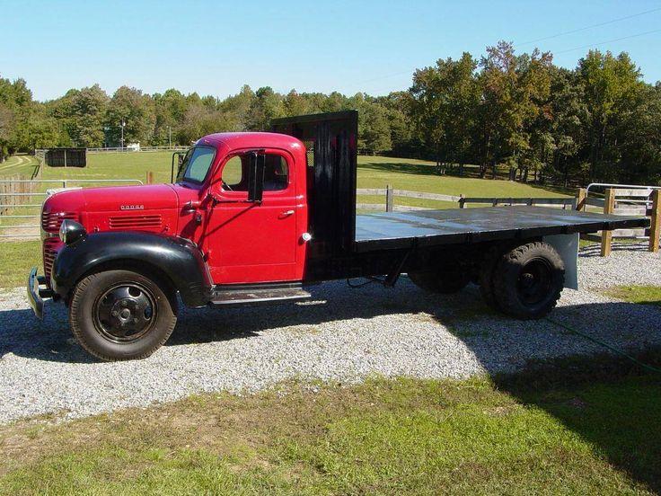 1946 Dodge Wf A34 Flat Bed Dump Truck Klassic Trucks