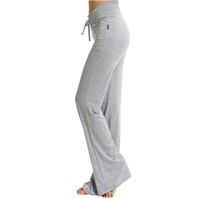 Loose Straight Harem Pants Dancing Trousers Modal Workout Women Pantalones Baggy Sportswear Pants Yuga Pant K164 Purple XXL