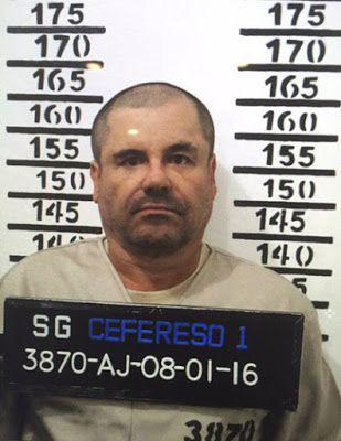 Mexico's most wanted drug lord Joaquin 'El Chapo' Guzman