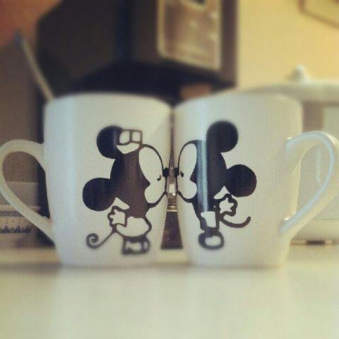 News   White Rabbit Vinyl. Cute mouse design on coffee mugs!