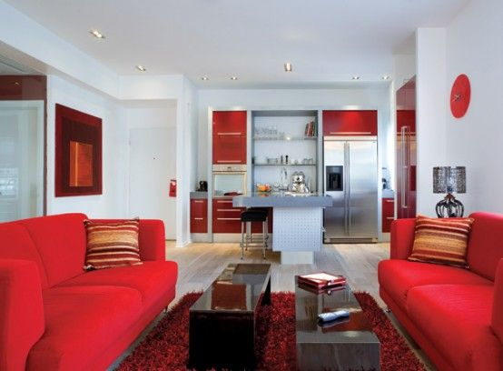 red home decorating a collection of ideas to try about