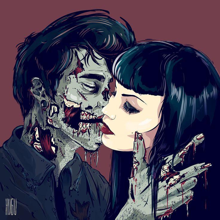 zombie love HUGU
