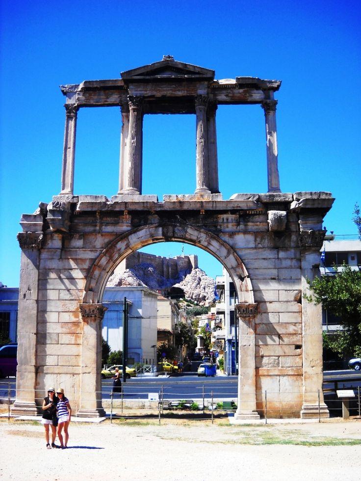Řecko - Athény - Hadriánova brána