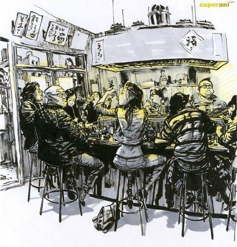 Amazing Sketch by Kim Jung Gi
