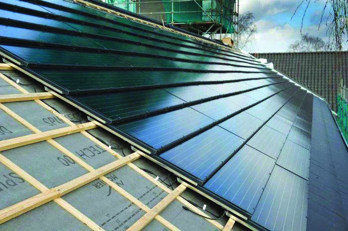 Conveniences And Drawbacks Of Solar Roof Tiles That You Need To Understand About Homes Tre Solar Roof Tiles Solar Energy Panels Solar Installation