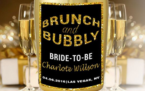 Check out this item in my Etsy shop https://www.etsy.com/listing/274606162/bridal-shower-champagne-labels