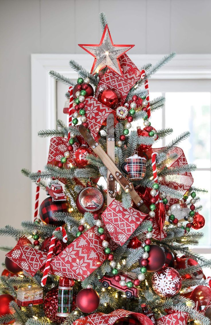 Inspired By Charm With Michael Wurm Jr Inspiredbycharm On Pinterest Cool Christmas Trees Christmas Decorations Rustic Christmas Lodge