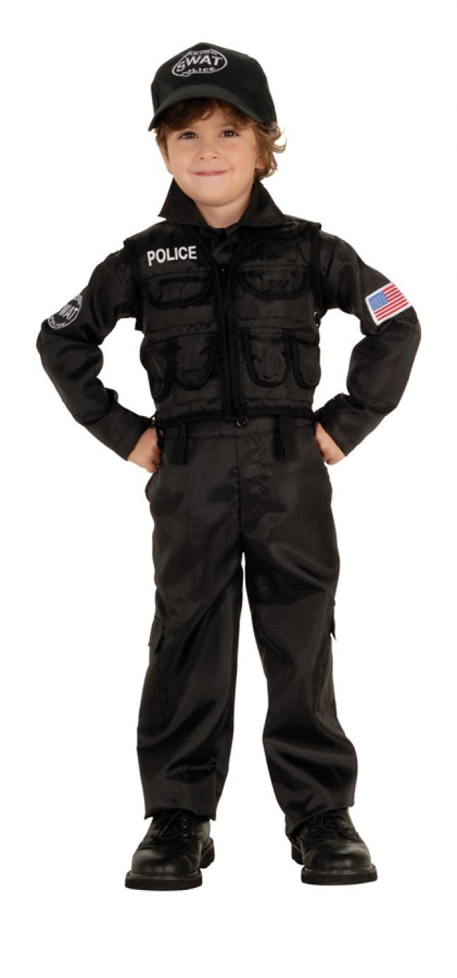 SWAT Police Kids Costume Police Costumes - Mr. Costumes