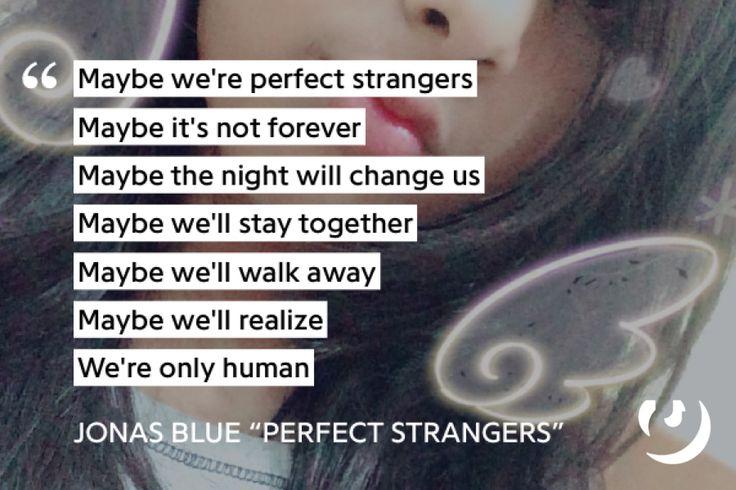Jonas-blue-perfect-strangers-lyrics