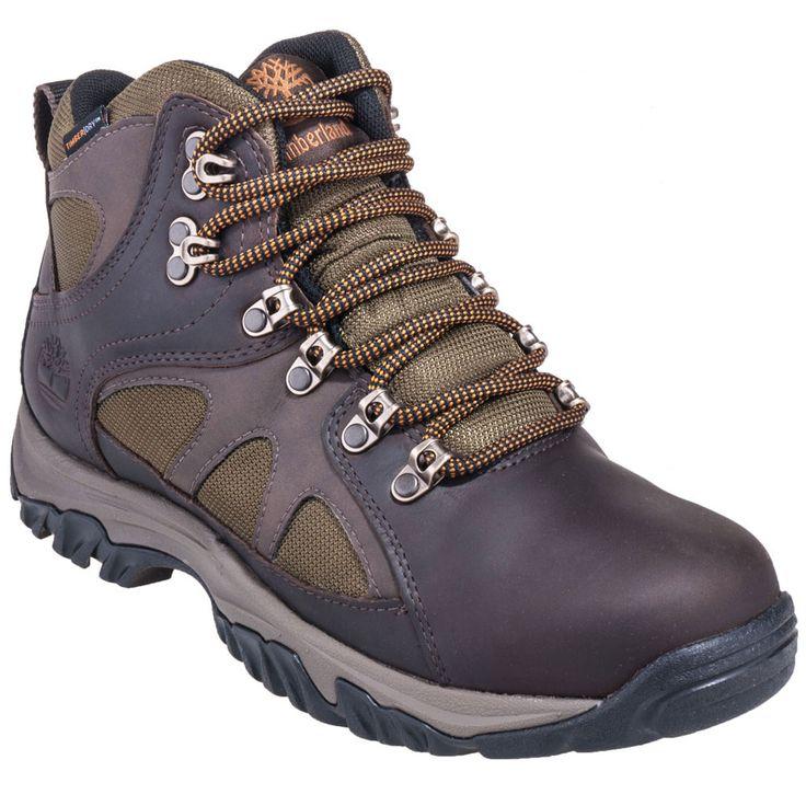 Timberland Men's TB05735A 242 Waterproof Brown Bridgeton Hiking Boots