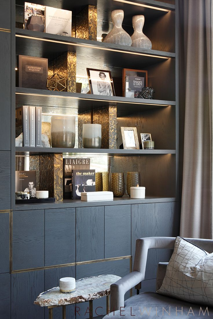 Showroom Shelves | Rachel Winham Interior Design