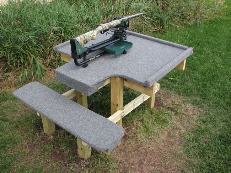 17 Best images about home made shooting bench on Pinterest