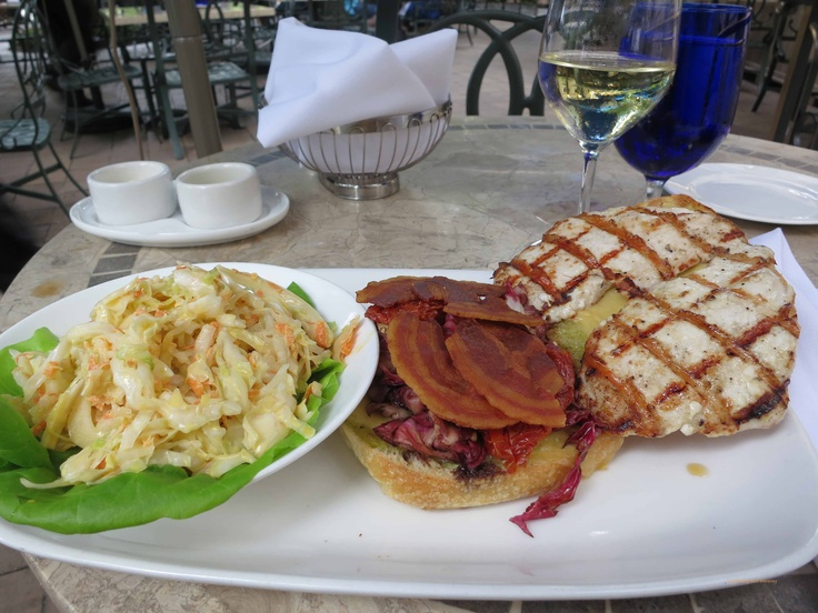 ... Sandwich with Pancetta / Radicchio / Fontina Cheese/Oven Roasted